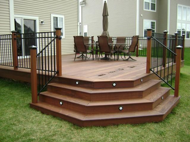 Ipe Hardwood Deck Chicago By Millennium Construction