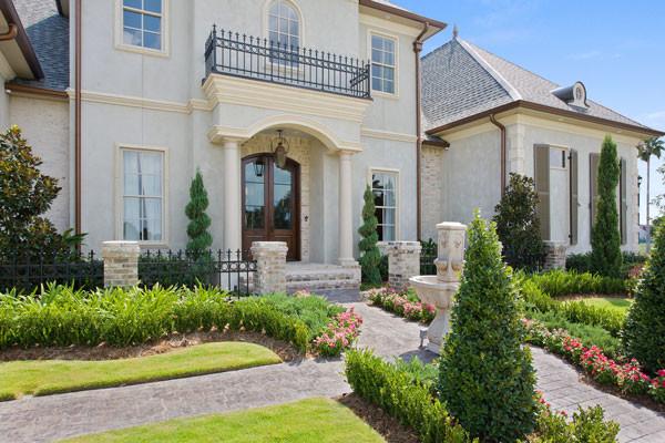 Contemporary Luxury European House Plan 9643