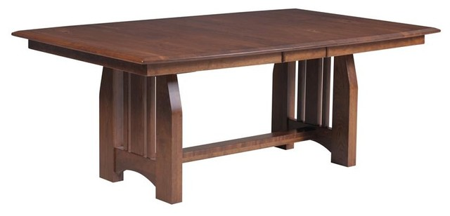 mission dining room trestle table craftsman dining tables tampa