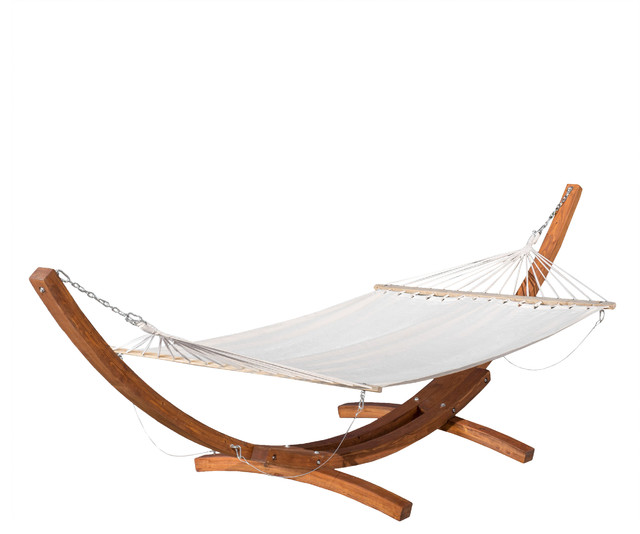 Weston Larch Wood Amp Canvas Hammock W Stand Tropical