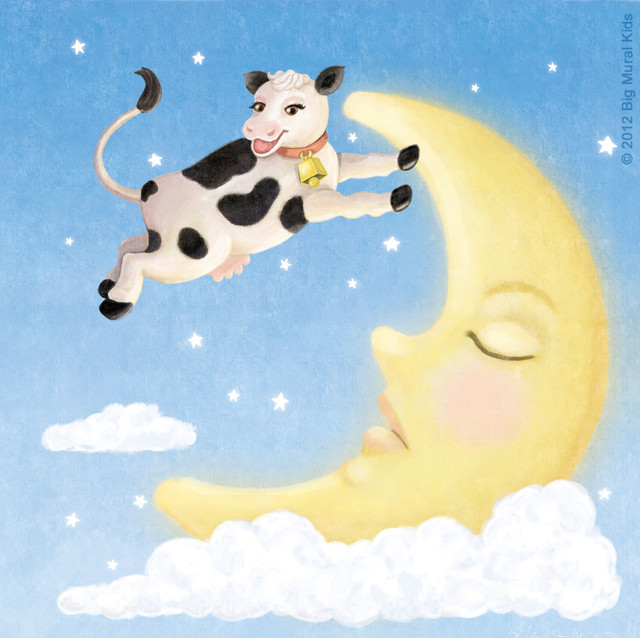 Nursery Rhymes The Cow Jumped Over The Moon  TheNurseries