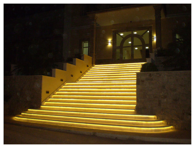 flexfire leds outdoor lighting stairs modern outdoor lighting