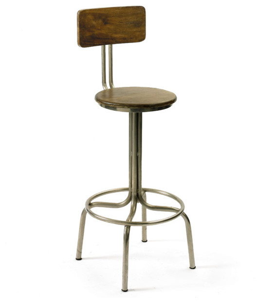 Clevelander Stool Industrial Bar Stools And Kitchen