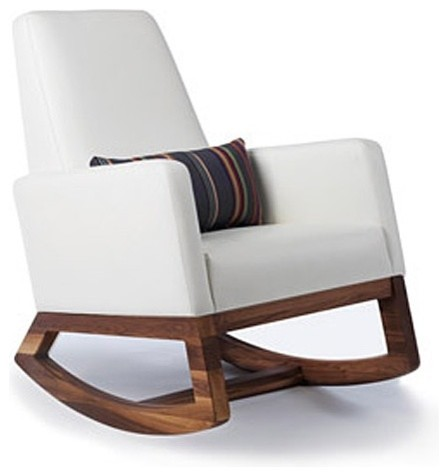 Joya Rocker Modern Rocking Chairs By
