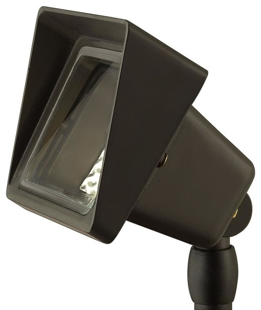 Hinkley 1520bz one light outdoor accent lamp outdoor lighting by 1stoplighting - Exterior accent lighting for home ...