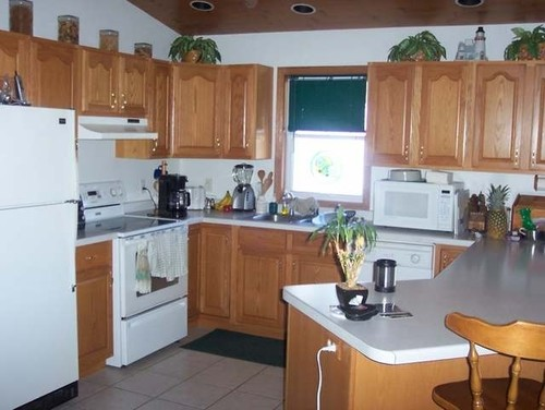 How to update maple cabinet kitchen without painting cabinets - Updating kitchen cabinets with paint ...