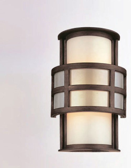 Discus Outdoor Wall Sconce - Modern - Outdoor Wall Lights And Sconces - by Lightology