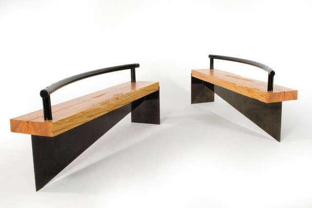 Portfolio - Contemporary - Indoor Benches - other metro - by Ironwood Industries