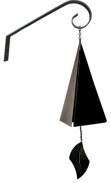 Cape Cod Buoy Bell With Short Scroll Bracket Traditional