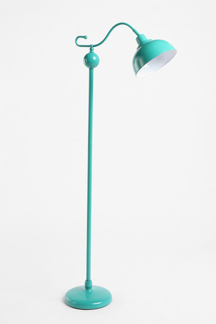 Stella Floor Lamp Turquoise Eclectic Floor Lamps By