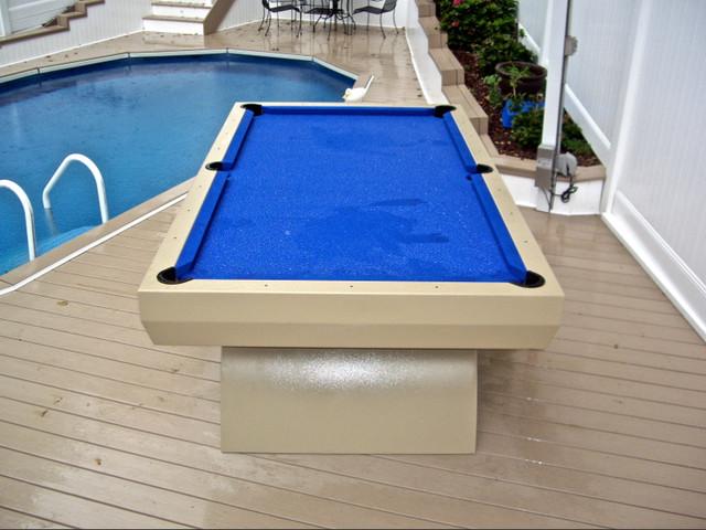 Custom Outdoor Pool Table