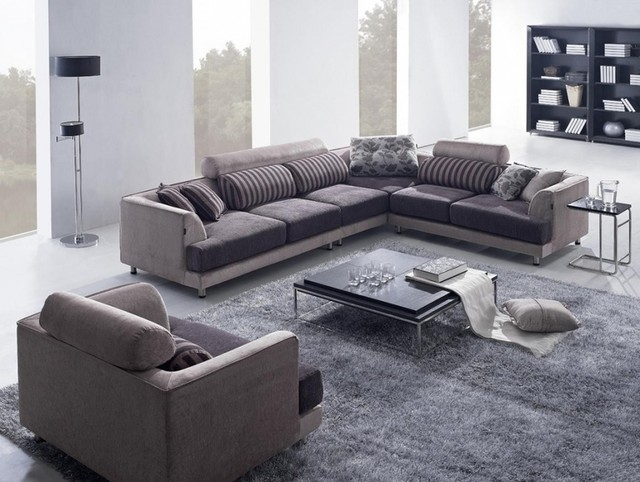 Fabric sofa modern sofas los angeles by sister for Sofa set designs for living room