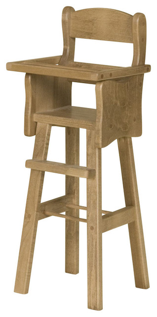 Wooden Doll High Chair - Traditional - Kids Toys And Games - by Clip Clop Toys
