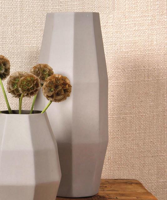 Mina Tall Ceramic Vase Transitional Vases by Bliss