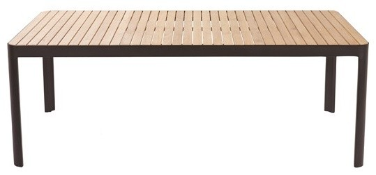 Table kea contemporain table de jardin par castorama - Table de jardin contemporaine ...