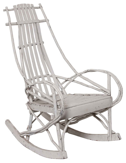Bentwood Rocking Chair Modern Outdoor Rocking Chairs new york by Omero