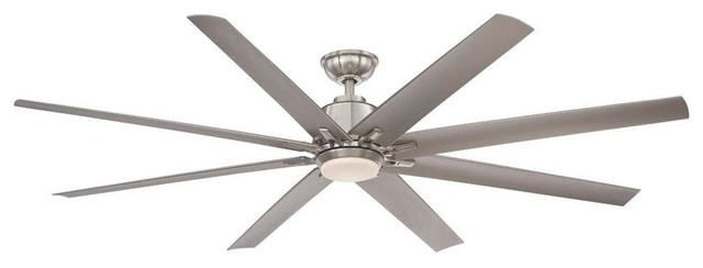 Home Decorators Collection Ceiling Fans Kensgrove 72 In Brushed Nickel Led Contemporary