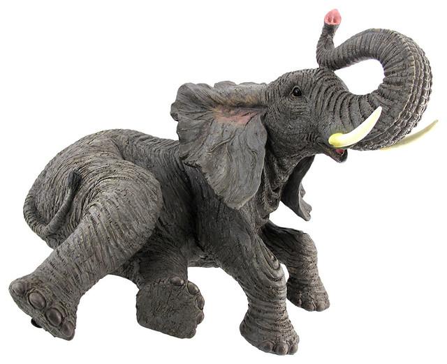 Lounging Elephant Indoor/Outdoor Statue