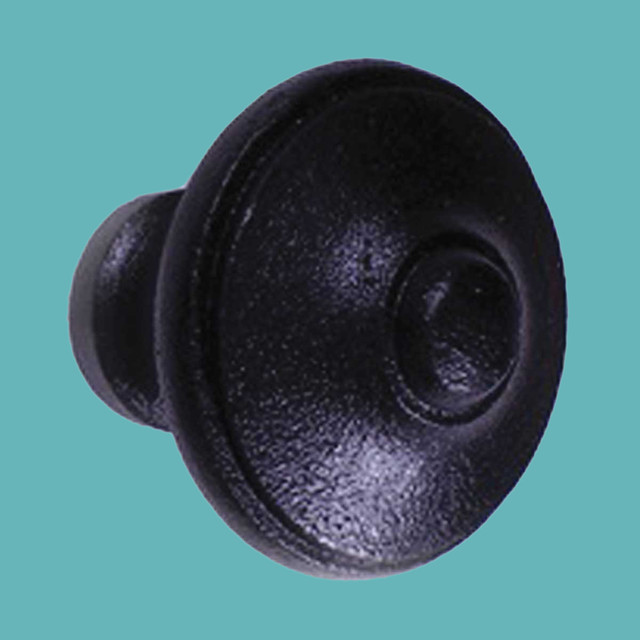 Cabinet Knobs Wrought iron Black Cabinet Knob 1 1/2'' | 16047 - Rustic - Cabinet And Drawer ...