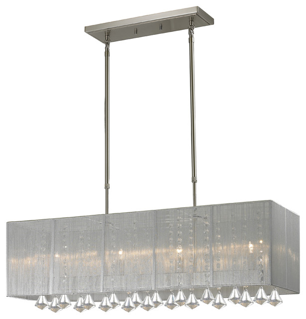 Light Island Billiard Light  Contemporary  Kitchen Island Lighting