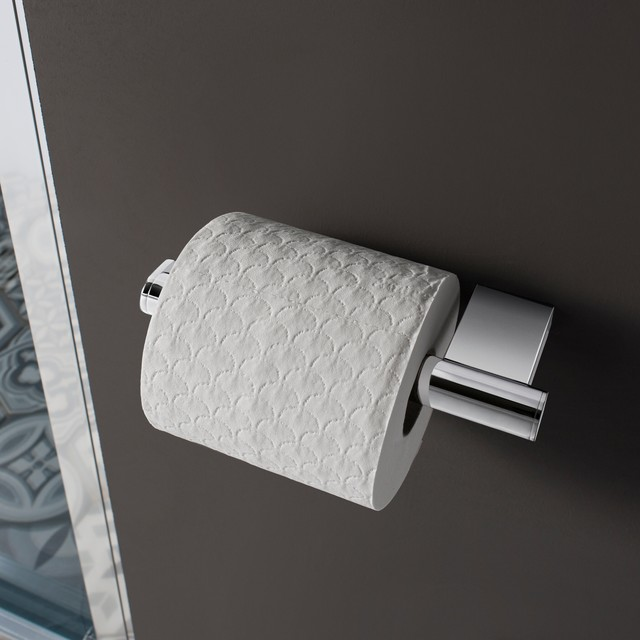 Crosswater Mike Pro Toilet Roll Holder Contemporary