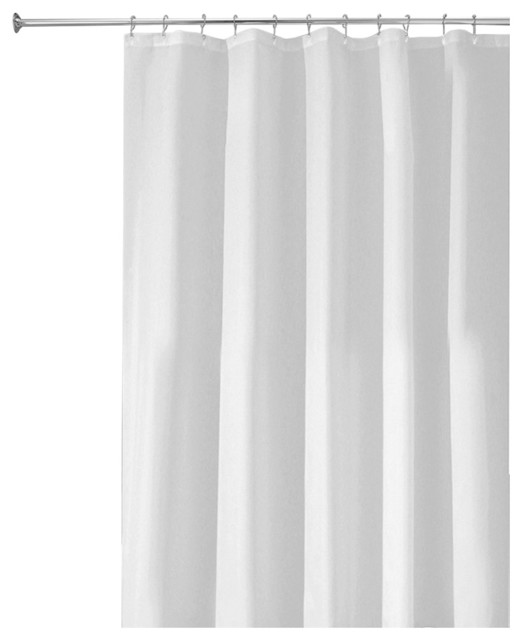 Interdesign Poly Shower Curtain Liner Extra Long Shower Curtains By Juiceblenddry