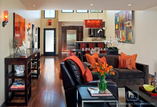 Palm Desert Living Room Contemporary Living Room