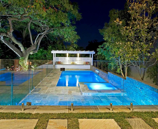 Beau corp luxury pool builders brisbane for Pool design brisbane