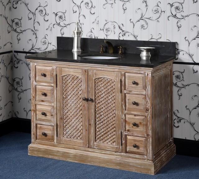 Distressed Bathroom Vanities Traditional Bathroom Vanities And Sink Consoles Los Angeles