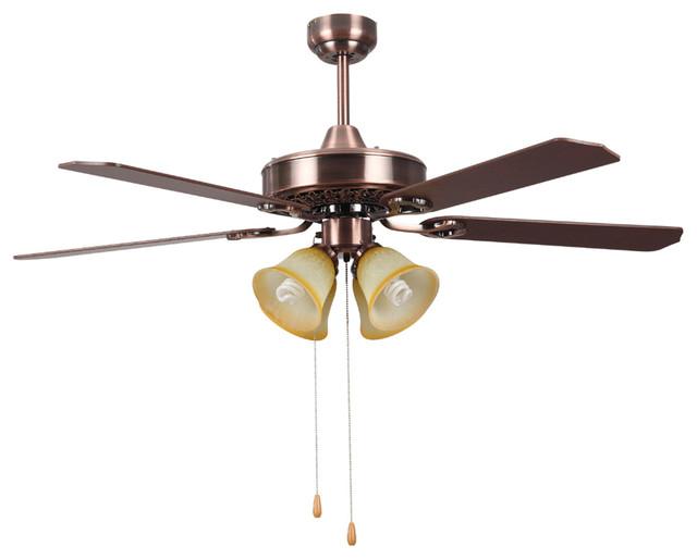 "Traditional Hampton Bay Ceiling Fan Lights 52"""