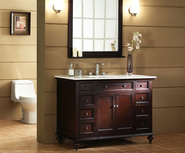 traditional bathroom cabinets 2