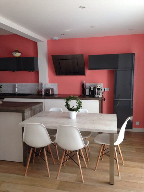 Probl me couleur mur de cuisine - Couleur de mur pour cuisine ...