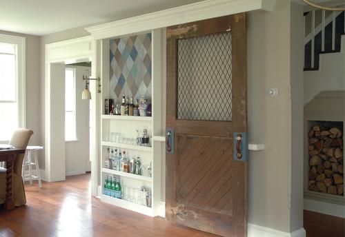 Harlequin Liquor Cabinet