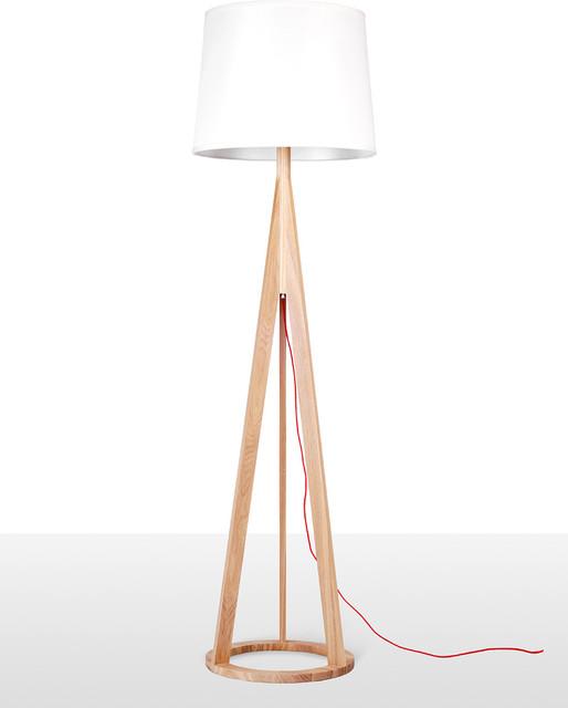 Russia ash wood base floor lamp contemporary floor for 4 legged wooden floor lamp