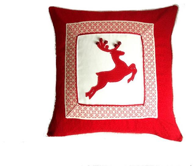 Christmas - Modern - Decorative Pillows - Boston - by JoJos Artistic Design
