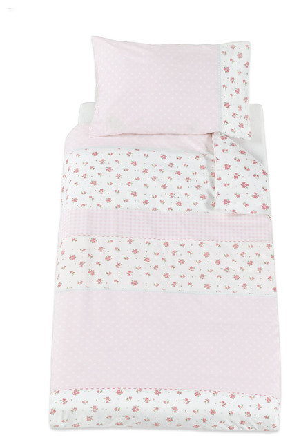 Mothercare Little Lane Cotbed Duvet Cover And Pillow Case