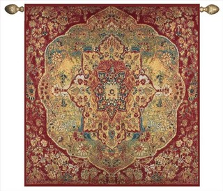 Grand Bazaar Moroccan Woven Tapestry - Traditional ...