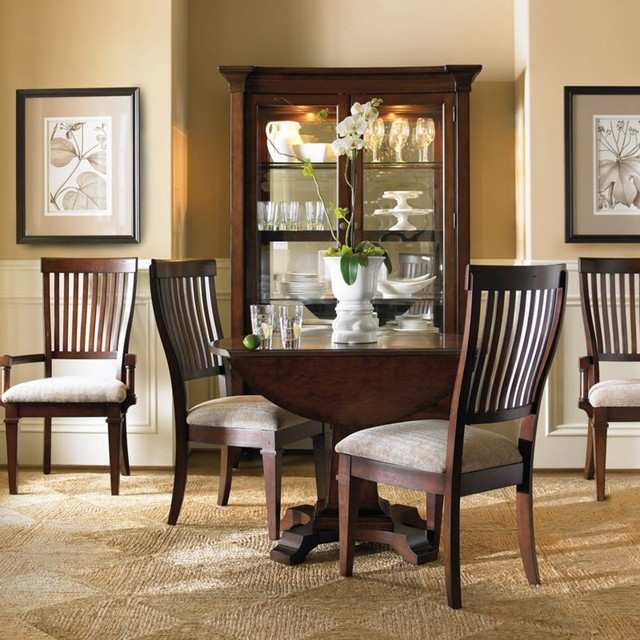 piece round drop leaf dining set hook1578 contemporary dining sets