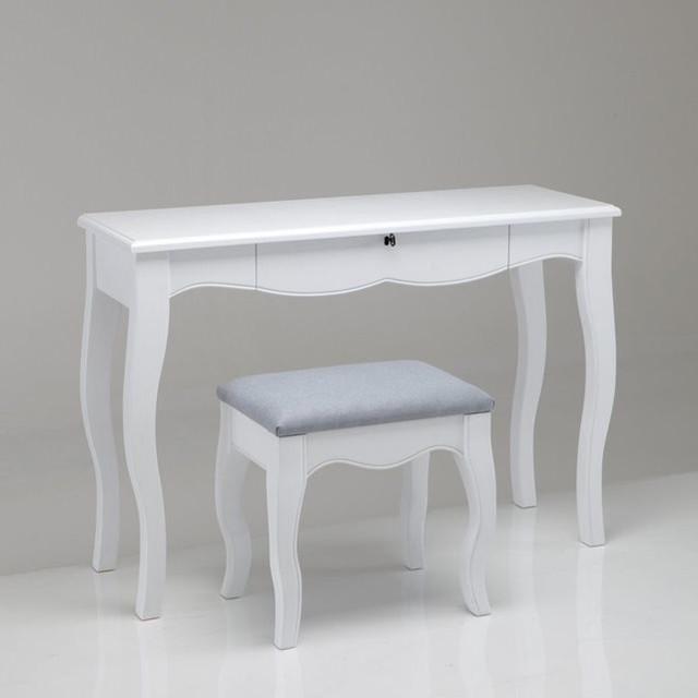 bureau coiffeuse tabouret lison modern frisier schminktische von la redoute int rieurs. Black Bedroom Furniture Sets. Home Design Ideas