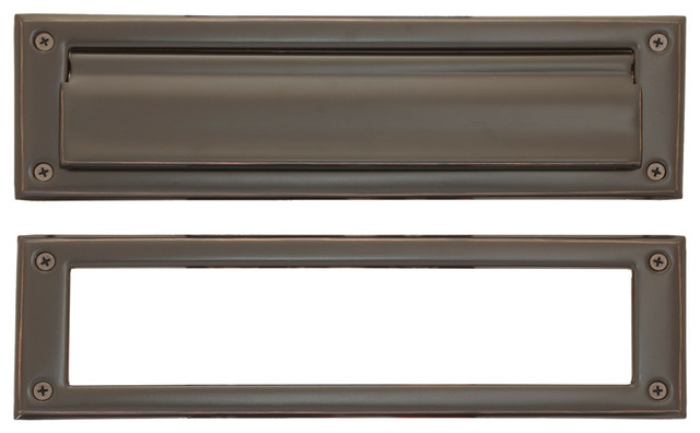 """Mail Slot 3-5/8""""x13"""", Oil Rubbed Bronze"""