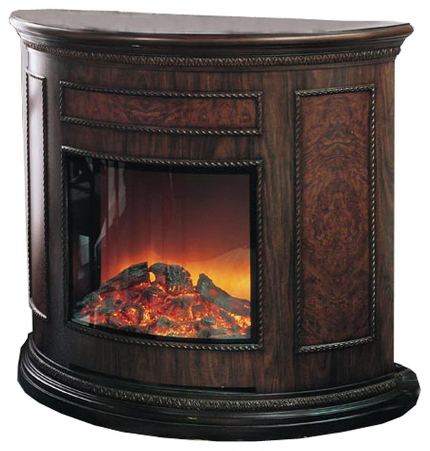 Yosemite Home Decor Df Efp180 Standing Electric Fireplace Brownyosemite Electr Indoor
