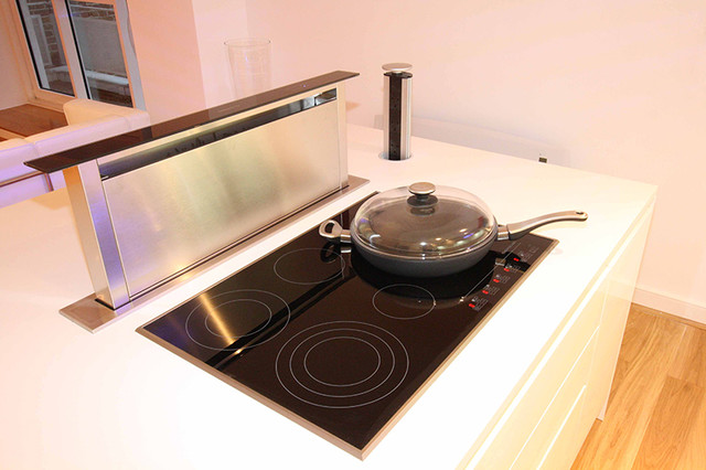Pop Up Kitchen Extractor Contemporary Extractor Hoods