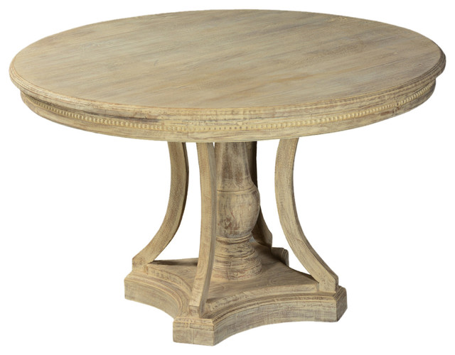 mango wood 47 round pedestal dining table rustic dining tables
