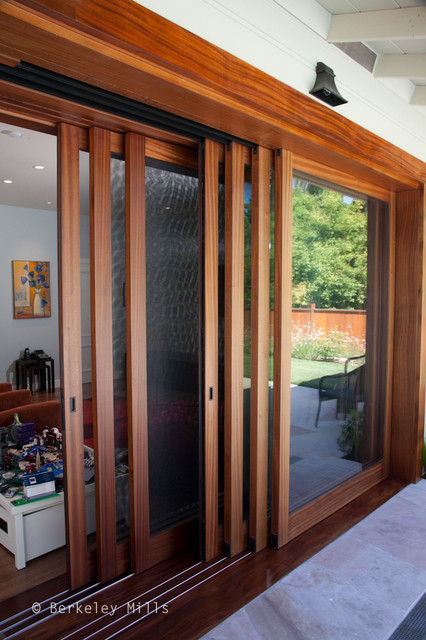 Sliding doors on to pool deck contemporary windows and for Berkeley mills doors