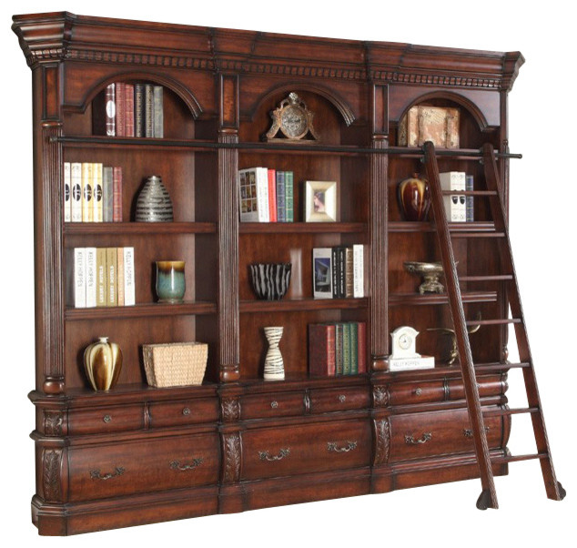 parker house versailles 3pc museum bookcase