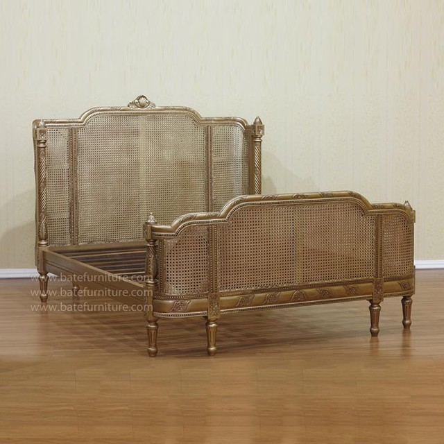 French Curved Rattan Bed Eclectic Beds By Bate