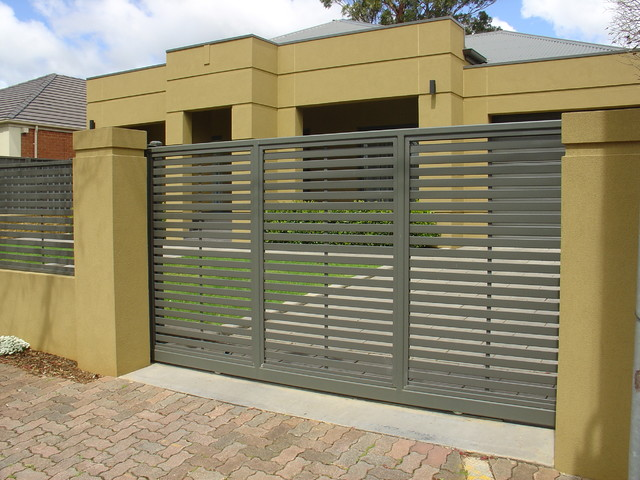 Modern Fencing Home amp Gates Adelaide By Hindmarsh Wrought Iron