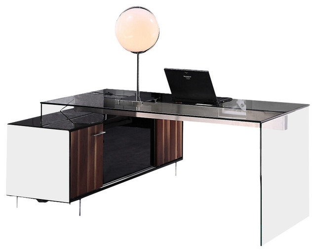 office desk modern desks and hutches by la furniture store