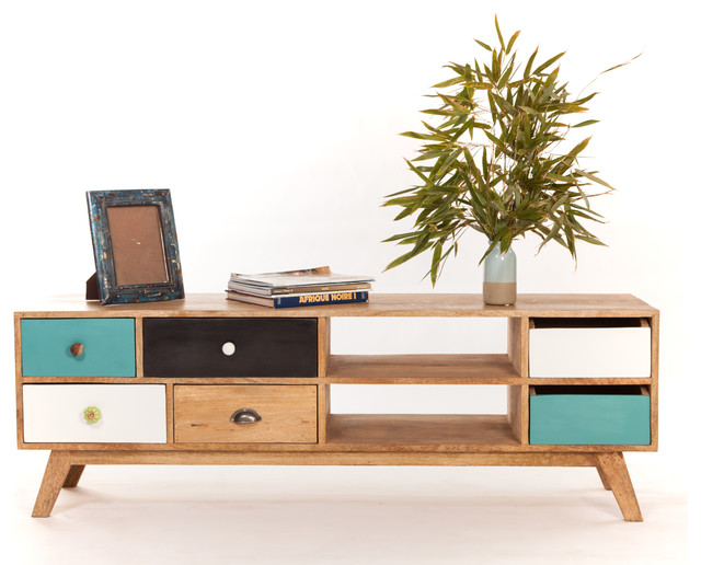 Meuble tv bas design scandinave scandinave solution m dia et meuble tv - Meubles tv scandinave ...