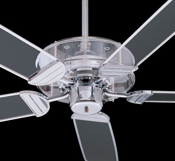 Quorum International Prizzm Ceiling Fan Clear Acrylic